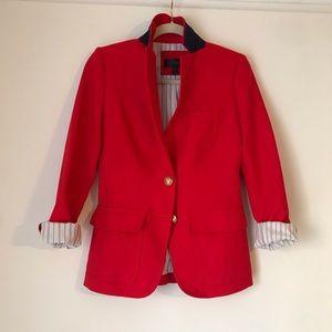J.Crew Red Blazer 00 - Never been worn.